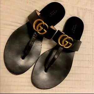 Gucci Marmont Thong Sandal